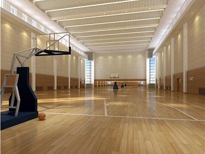 上師大附二外學校室內籃球場