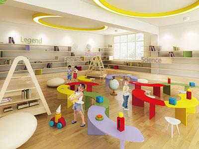 赫威斯格林美语国际幼儿园,校园风采