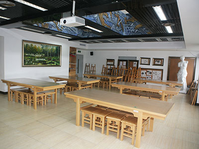 美术教室(油画)图片
