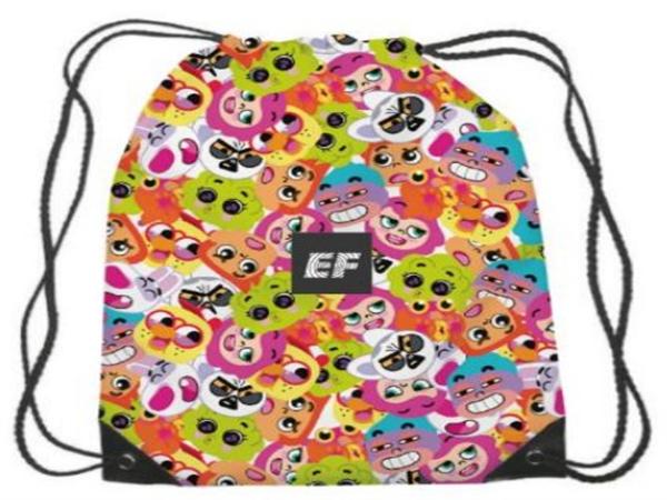 天津英孚7月份到访礼---EF定制束口袋