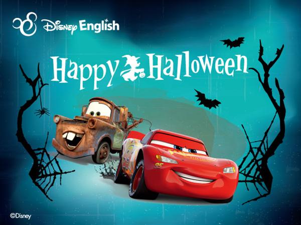 迪士尼英语万圣节试听课,与外教老师扮角色做南瓜灯!